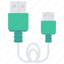 adapter, cable, connector, usb, wire icon