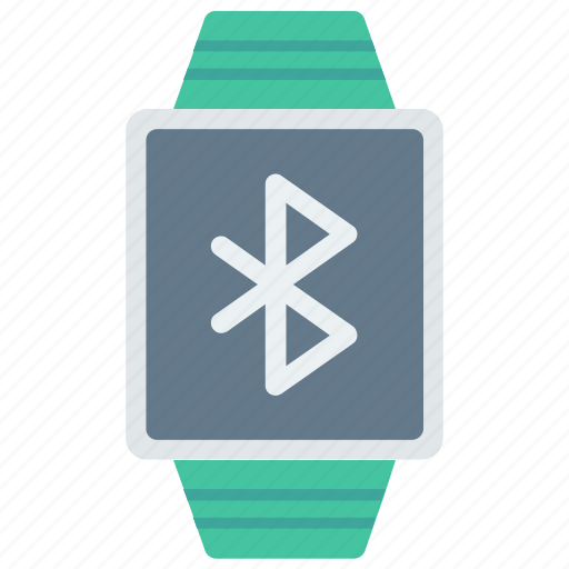 Bluetooth, clock, time, watch, wrist icon - Download on Iconfinder
