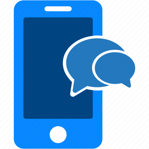 chat, communication, conversation, iphone, message, mobile, smartphone icon