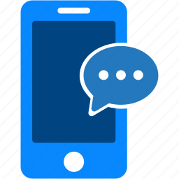 comment, communication, iphone, mobile, phone, smartphone, talk icon