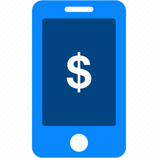currency, dollar, finance, iphone, mobile, money, smartphone icon