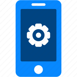 configuration, gear, iphone, mobile, preferences, setting, smartphone icon