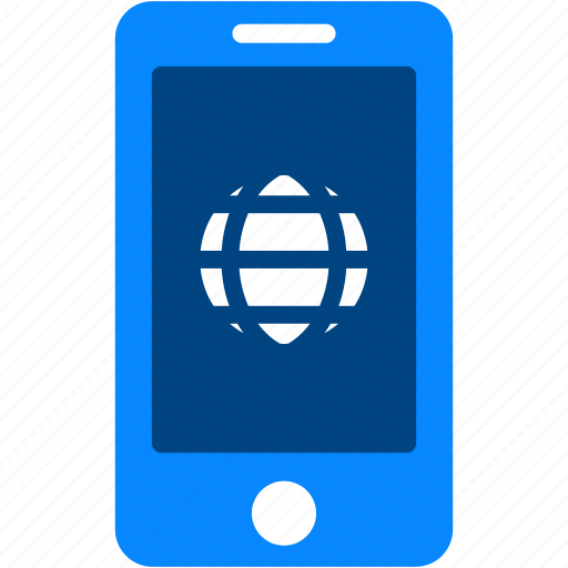 browser, globe, internet, iphone, mobile, smartphone, web icon