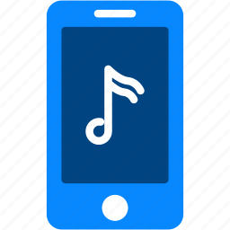 audio, iphone, mobile, music, note, smartphone icon