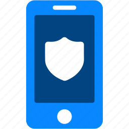 cell, iphone, mobile, protection, secure, shield, smartphone icon