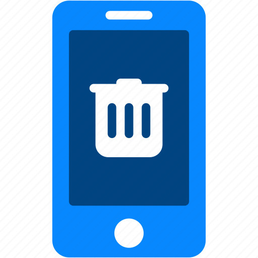 delete, device, iphone, mobile, remove, smartphone, trashcan icon