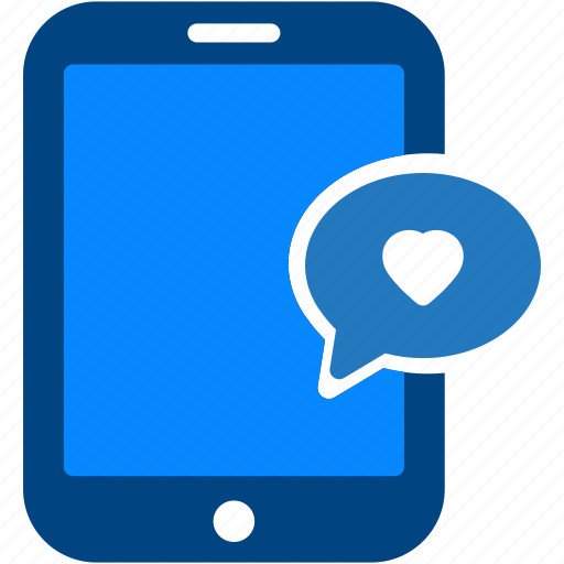 comment, favorites, heart, love, tablet icon
