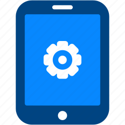 cog, configuration, gear, preferences, setting, tablet icon