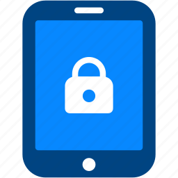 device, lock, password, protection, security, tablet icon