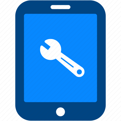 cog, configuration, preferences, repair, setting, tablet, wrench icon