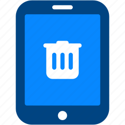 delete, device, ipad, remove, tablet, trashcan icon