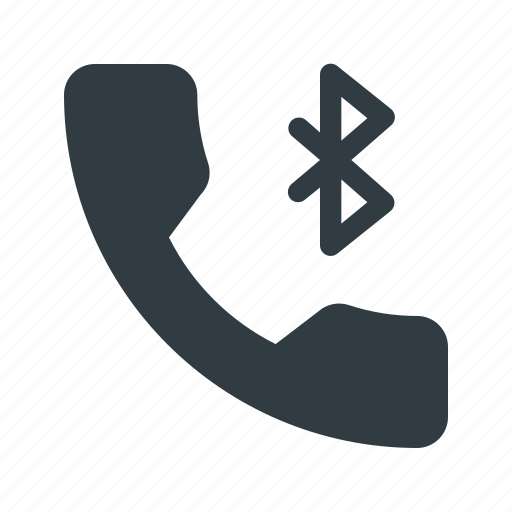 bluetooth, call, phone, telephone icon