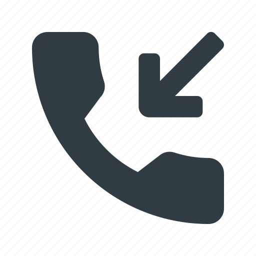 call, incomming, phone, telephone icon