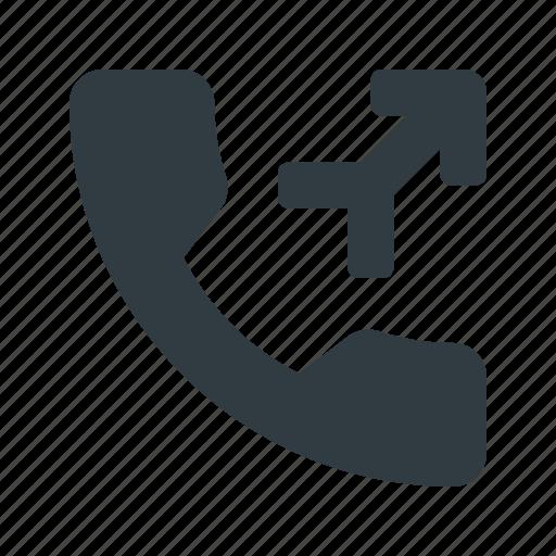 call, merge, phone, telephone icon