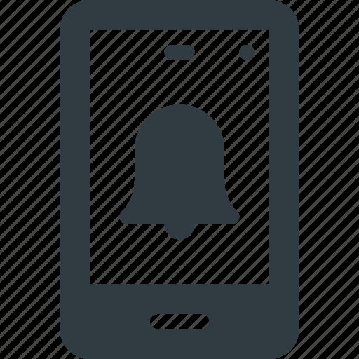 allarm, mobile, phone, smart, smartphone icon