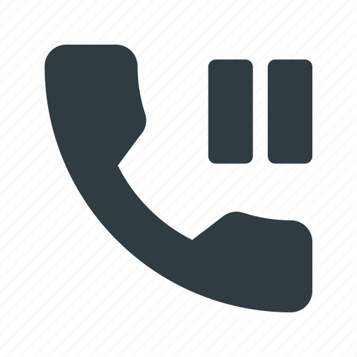 hold, mobile, pause, phone, smart, smartphone icon