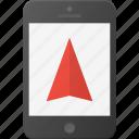 gprs, gps, mobile, navigation, phone, smart, smartphone icon