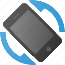 phone, rotate, rotation, screen, smart, smartphone icon