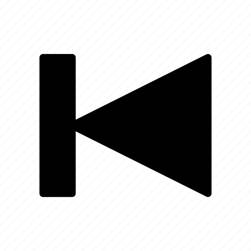 Backward, chevron, player, previous, rewind icon - Download on Iconfinder