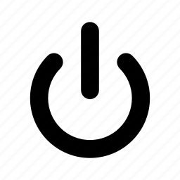 logout, off, power, shutdown, switch icon
