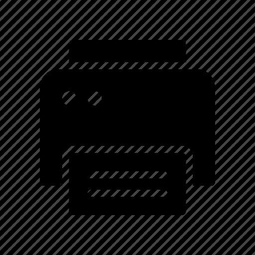 copy, device, fax, print, printer icon