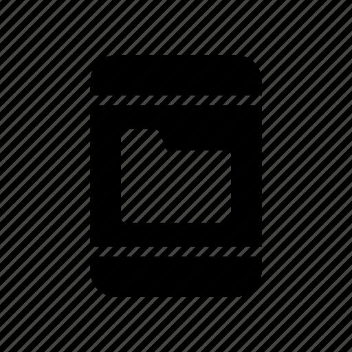 archive, device, document, folder, phone icon