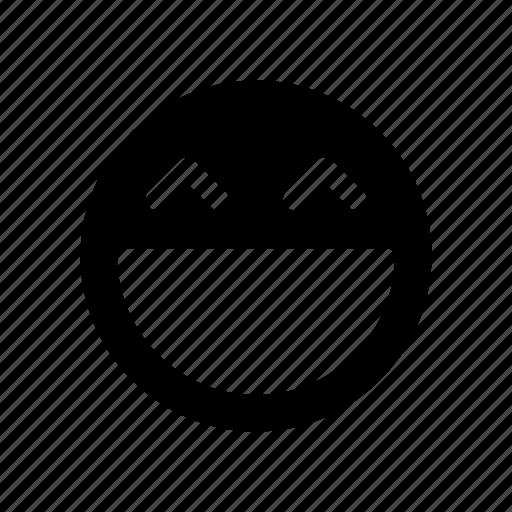 Emoji, face, happy, react, smiley icon - Download on Iconfinder