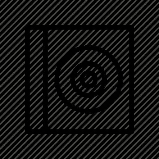 cd, disc, dvd, media, pack icon