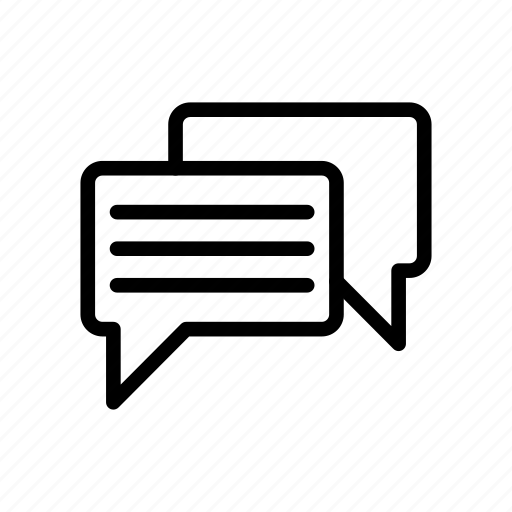 bubble, chat, conversation, discussion, message icon