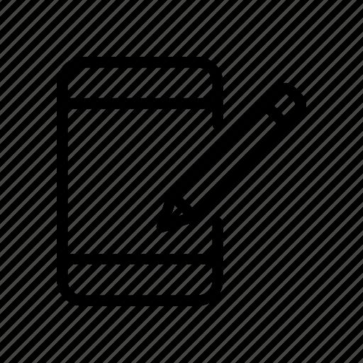create, edit, mobile, phone, write icon
