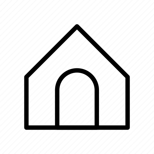 building, home, house, property, real icon
