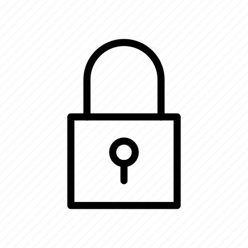 lock, private, protection, safety, secure icon