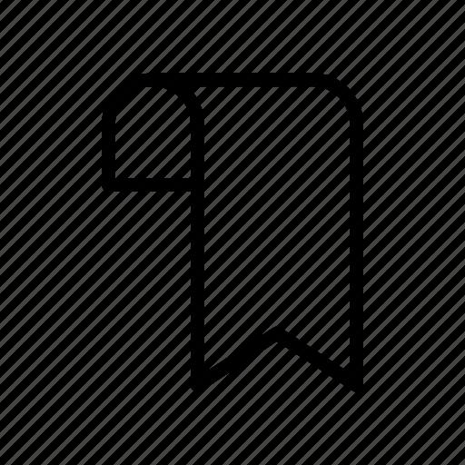 bookmark, label, ribbon, sticker, tag icon