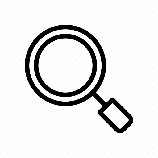 find, glass, magnifier, search, view icon