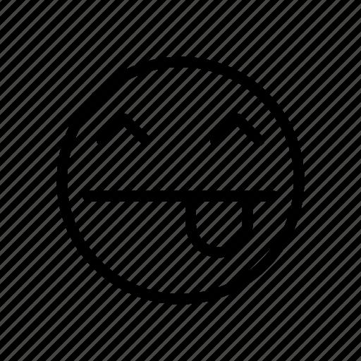 emoji, face, react, smiley icon