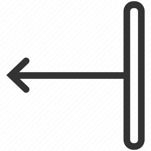 arrow, direction, gesture, hand, left, slide, swipe icon