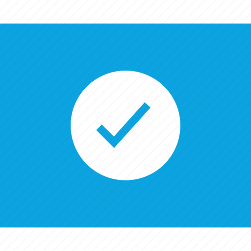 check, mark, mockup, ok, web, wireframes icon