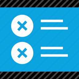 double, error, mockup, web, wireframes, x icon