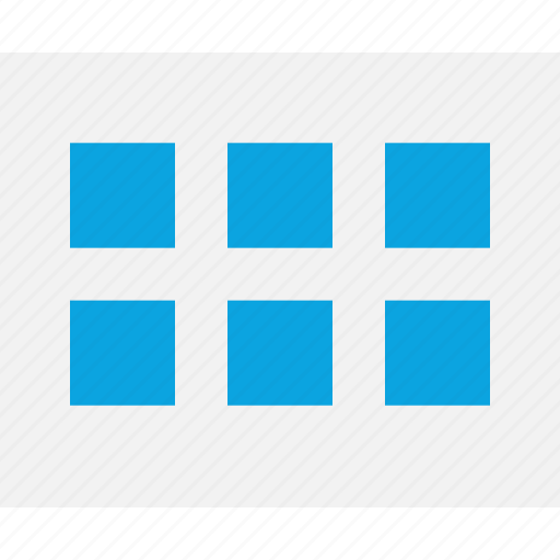 gallery, grid, mockup, photo, web, wireframes icon