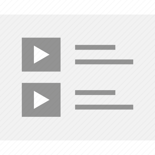 mockup, playlist, web, wireframes, youtube, youtubers icon