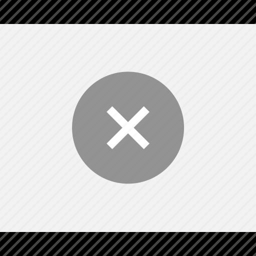 cross, error, mockup, web, wireframes, x icon