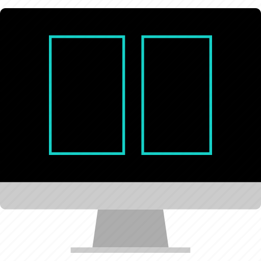 gallery, layout, picture, website, wireframe icon