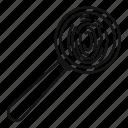 fingerprint, human, investigation, lens, magnifier, science, thumbprint