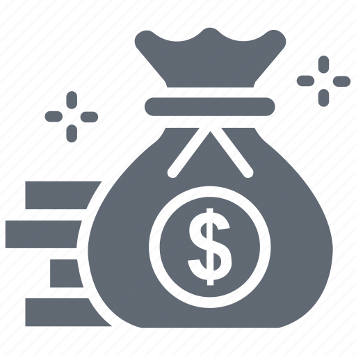 bag, banking, dollar, money icon
