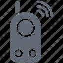 cordless phone, intercom, police radio, radio transceiver, walkie talkie