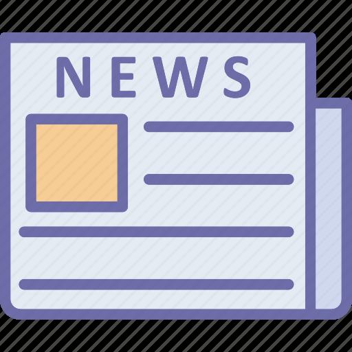 journal, news, newsletter, newspaper icon
