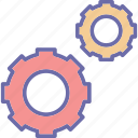 cogs, customization, options, preferences icon
