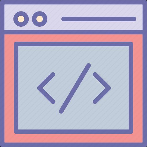 div, div coding, html, html coding icon