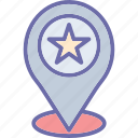 favorite location, gps, location pin, map icon