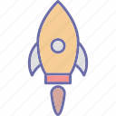 missile, rocket, space travel, spaceship icon